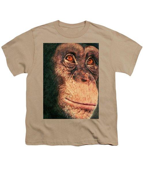 Chimp Youth T-Shirt by Jack Zulli