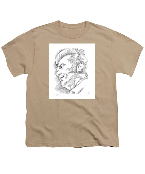 Conway Twitty Youth T-Shirt by Greg Joens