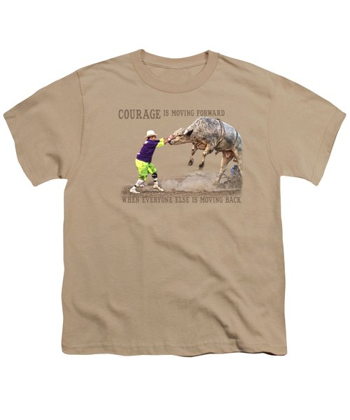 Courage Youth T-Shirt by Sanford Tullis