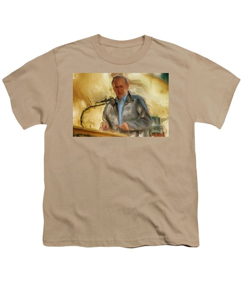 Donald Rumsfeld Youth T-Shirt by Brian Reaves