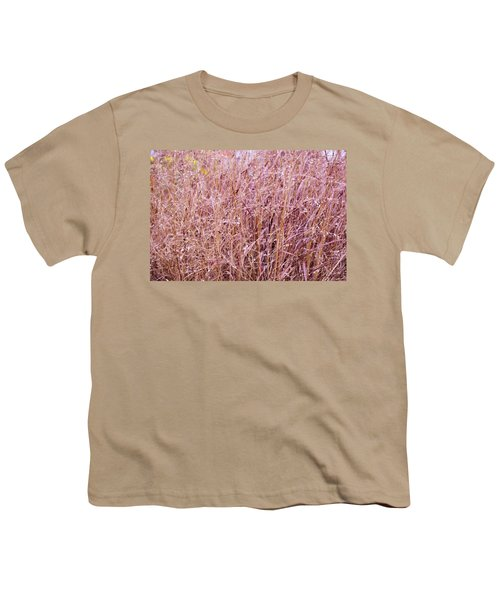 Grasses On The High Line No. 1 Youth T-Shirt by Sandy Taylor