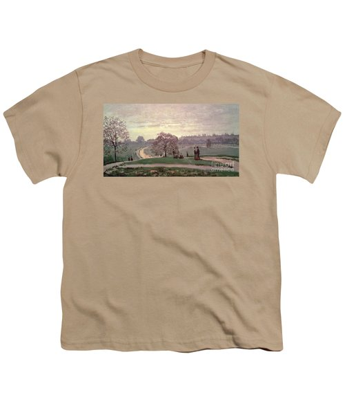 Hyde Park Youth T-Shirt by Claude Monet