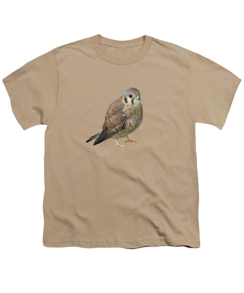 Kestrel Youth T-Shirt by Laurel Powell