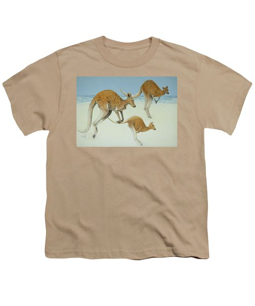Leaping Ahead Youth T-Shirt by Pat Scott