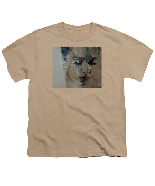 Make You Feel My Love Youth T-Shirt by Paul Lovering