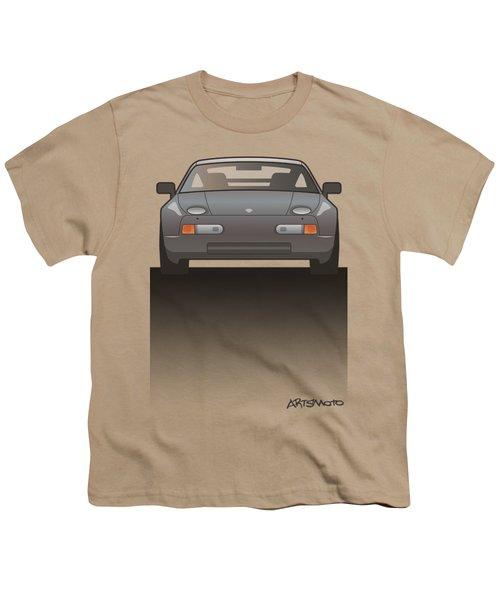Modern Euro Icons Series Porsche 928 Gts Split Youth T-Shirt by Monkey Crisis On Mars