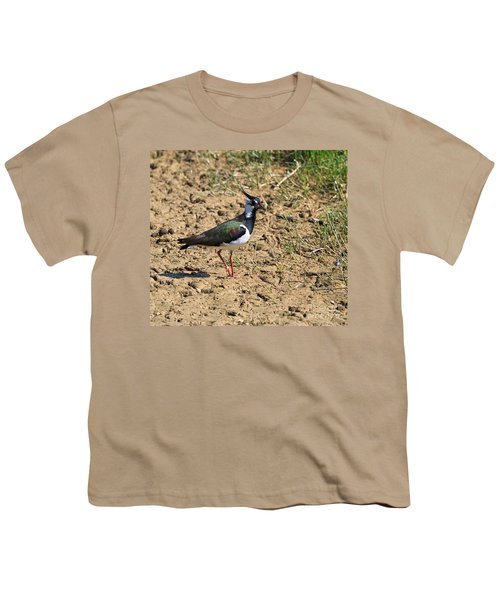 Northern Lapwing Youth T-Shirt by Louise Heusinkveld
