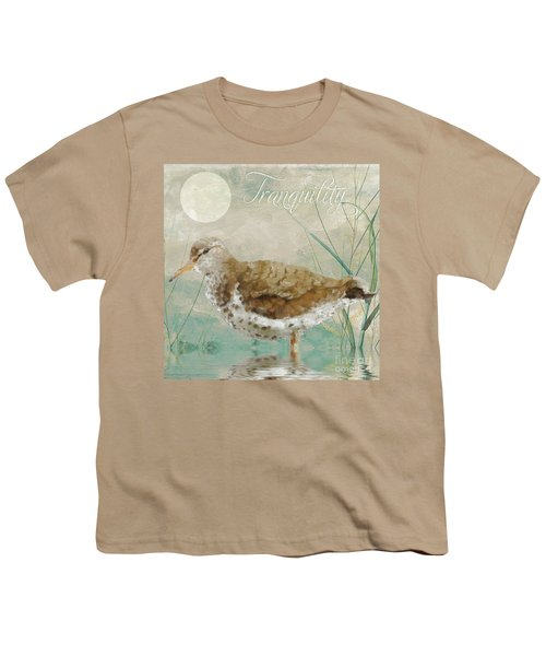 Sandpiper II Youth T-Shirt by Mindy Sommers