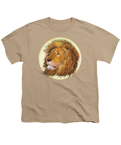 The One True King - Color Youth T-Shirt by J L Meadows