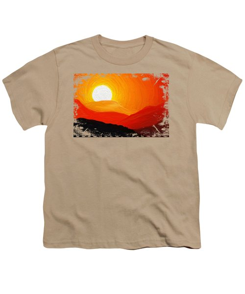 The Painted Desert Signature Series Youth T-Shirt by Di Designs