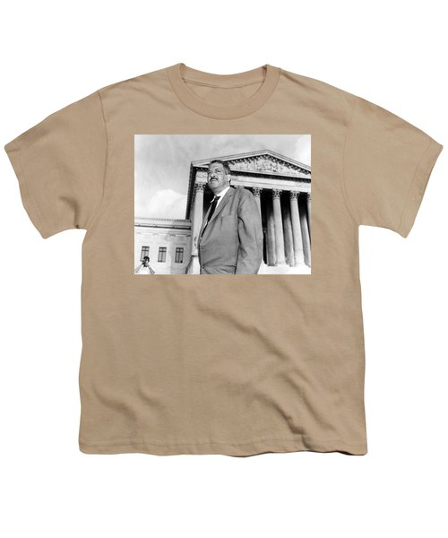 Thurgood Marshall Youth T-Shirt by Granger