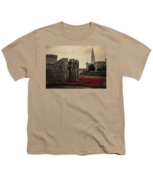 Tower Of London Youth T-Shirt by Martin Newman
