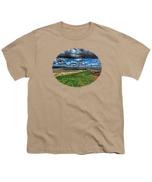 Van Duzer Vineyards View Youth T-Shirt by Thom Zehrfeld