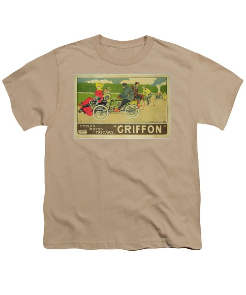 Vintage Poster Bicycle Advertisement Youth T-Shirt by Walter Thor