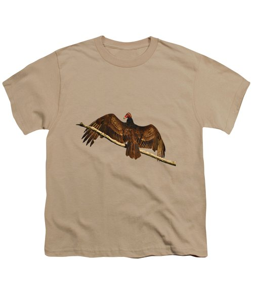 Vivid Vulture .png Youth T-Shirt by Al Powell Photography USA