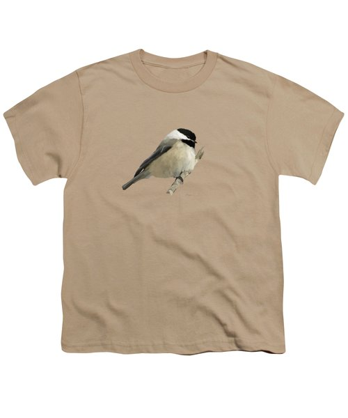 Willow Tit Youth T-Shirt by Bamalam  Photography