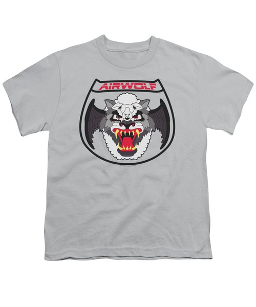 Airwolf - Patch Youth T-Shirt by Brand A