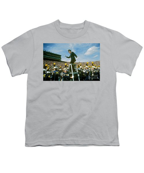 Band Director Youth T-Shirt by James L. Amos