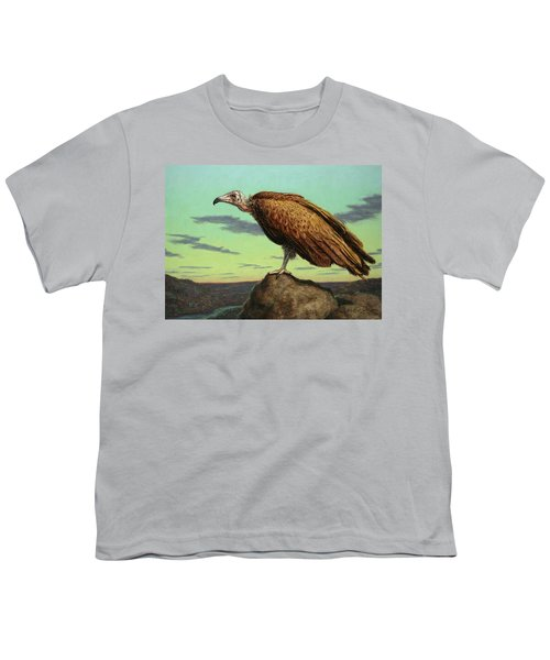 Buzzard Rock Youth T-Shirt by James W Johnson