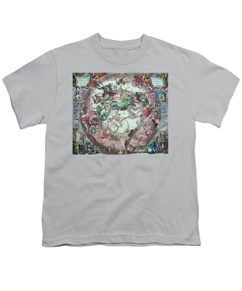Constellations Of The Southern Hemisphere, From The Celestial Atlas, Or The Harmony Of The Universe Youth T-Shirt by Andreas Cellarius