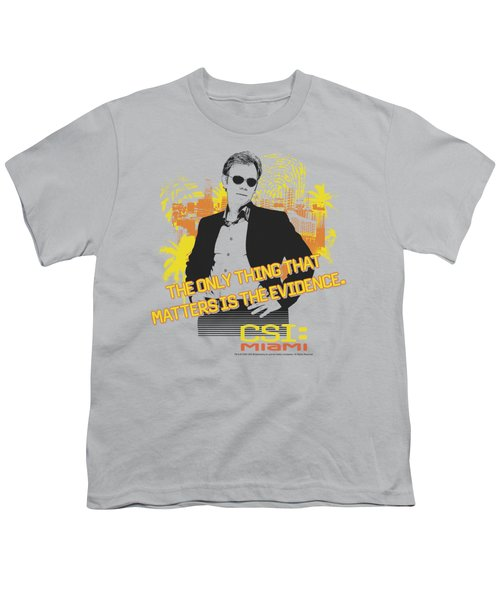 Csi Miami - Hand On Hips Youth T-Shirt by Brand A