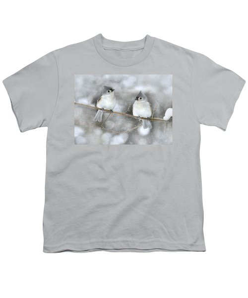 Let It Snow Youth T-Shirt by Lori Deiter