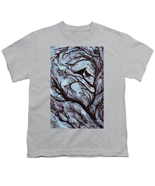 Stormy Day Greenwich Park Youth T-Shirt by Ellen Golla