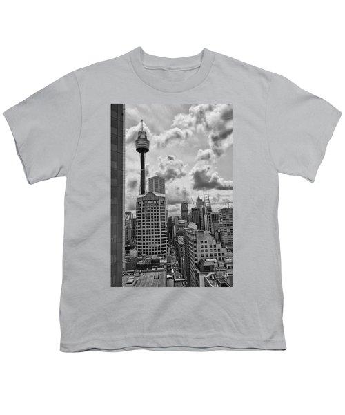 Sydney Skyline Youth T-Shirt by Douglas Barnard
