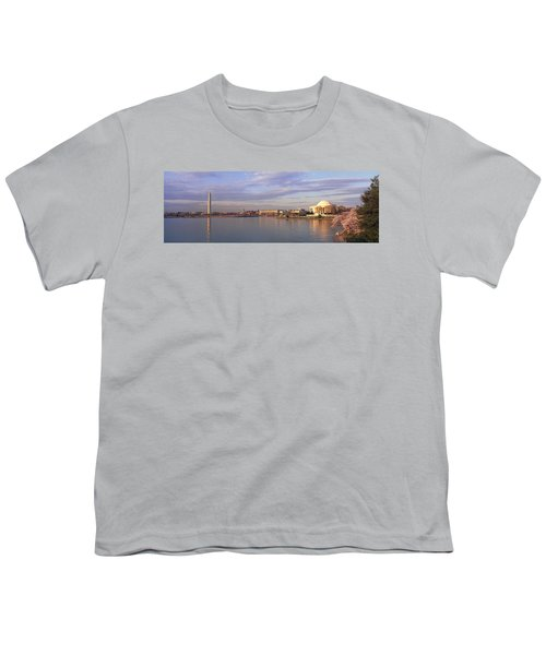 Usa, Washington Dc, Tidal Basin, Spring Youth T-Shirt by Panoramic Images