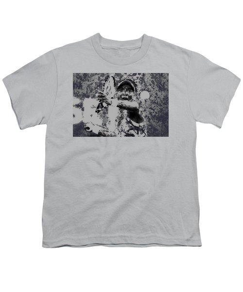 Venus Williams Paint Splatter 2e Youth T-Shirt by Brian Reaves