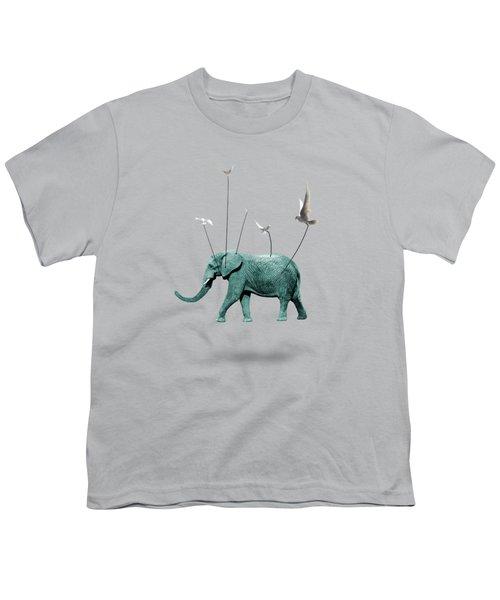 Elephant Youth T-Shirt by Mark Ashkenazi