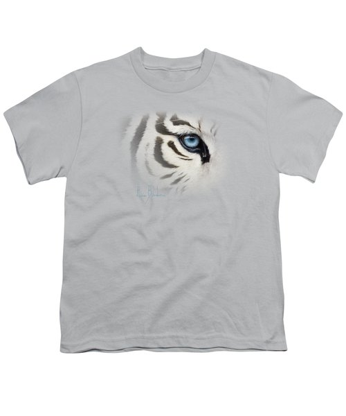 Blue Eye Youth T-Shirt by Lucie Bilodeau