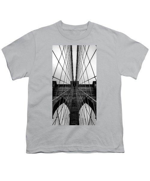 Brooklyn's Web Youth T-Shirt by Az Jackson