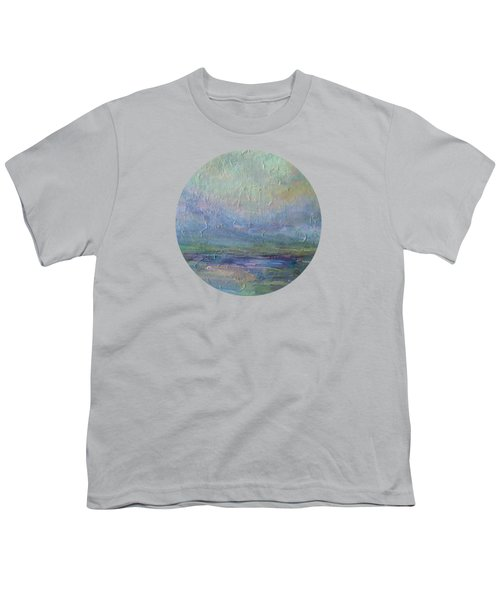 Into The Morning Youth T-Shirt by Mary Wolf