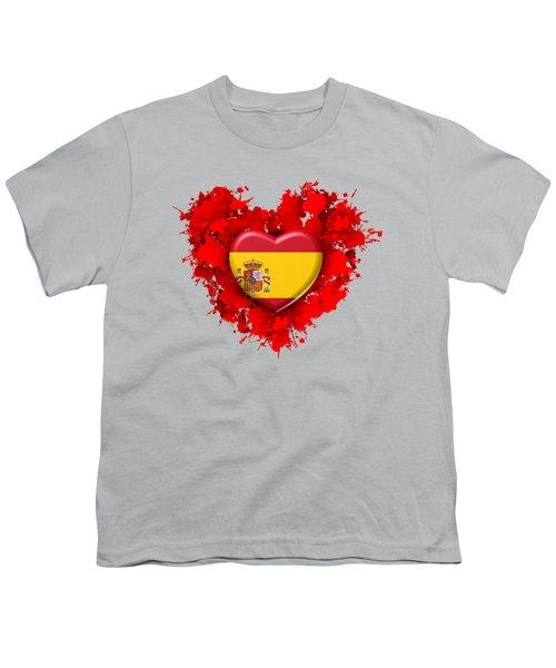 Love Spain 1 Youth T-Shirt by Alberto RuiZ