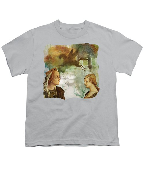 Medieval Dreams Youth T-Shirt by Terry Fleckney