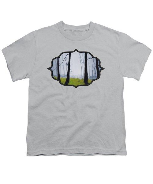 Misty Forest Youth T-Shirt by Anastasiya Malakhova