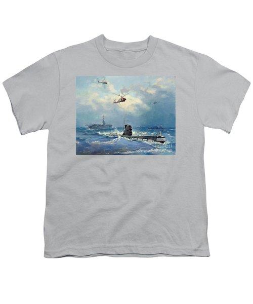 Operation Kama Youth T-Shirt by Valentin Alexandrovich Pechatin