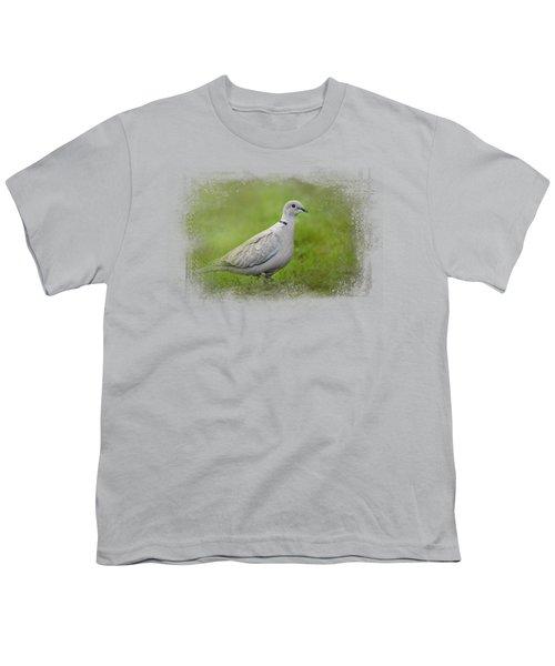 Spring Dove Youth T-Shirt by Jai Johnson