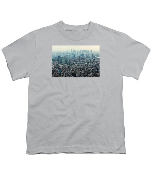 The Great Tokyo Youth T-Shirt by Peteris Vaivars