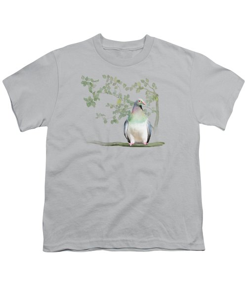 Wood Pigeon Youth T-Shirt by Ivana Westin