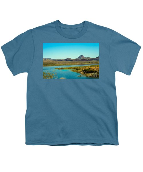 Alamo Lake Youth T-Shirt by Robert Bales