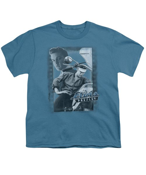 Elvis - Business Or Pleasure Youth T-Shirt by Brand A