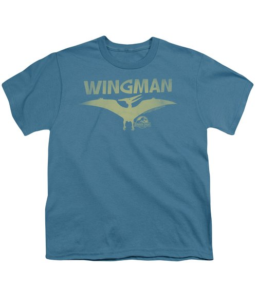 Jurassic Park - Wingman Youth T-Shirt by Brand A