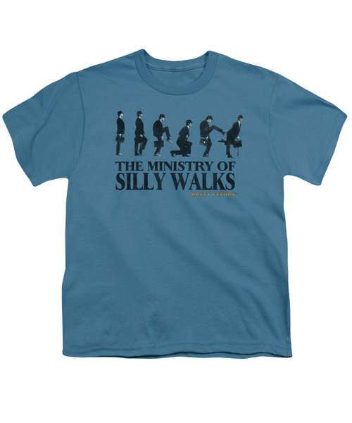 Monty Python - Silly Walk Youth T-Shirt by Brand A