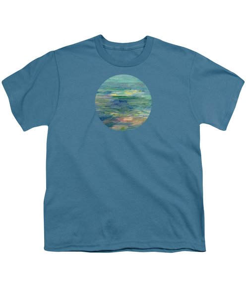 Gentle Light On The Water Youth T-Shirt by Mary Wolf