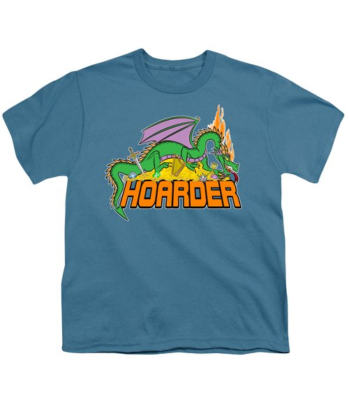 Hoarder Youth T-Shirt by J L Meadows