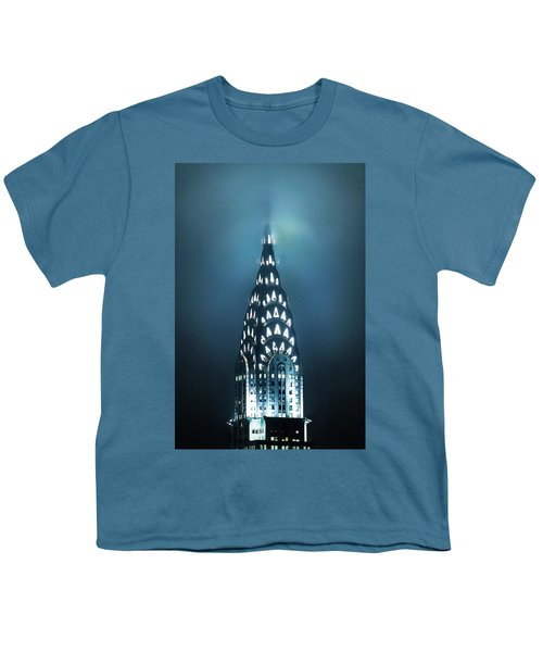 Mystical Spires Youth T-Shirt by Az Jackson
