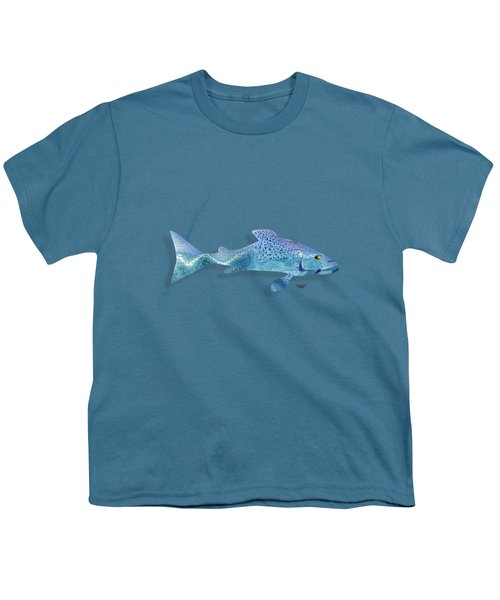 Rainbow Trout Youth T-Shirt by Mikael Jenei