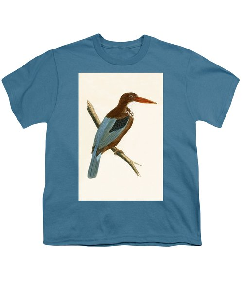 Smyrna Kingfisher Youth T-Shirt by English School
